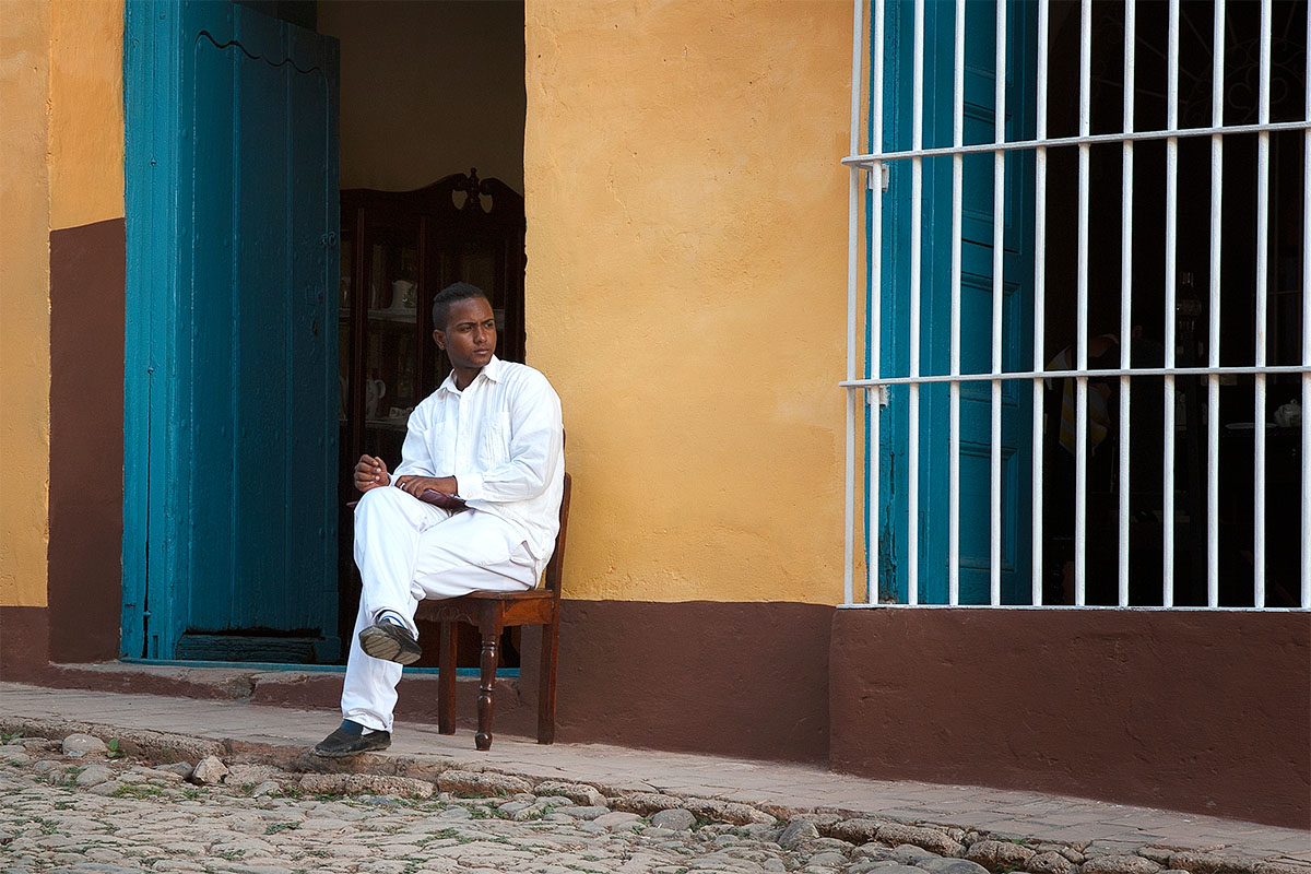 11-Cuban Man in White