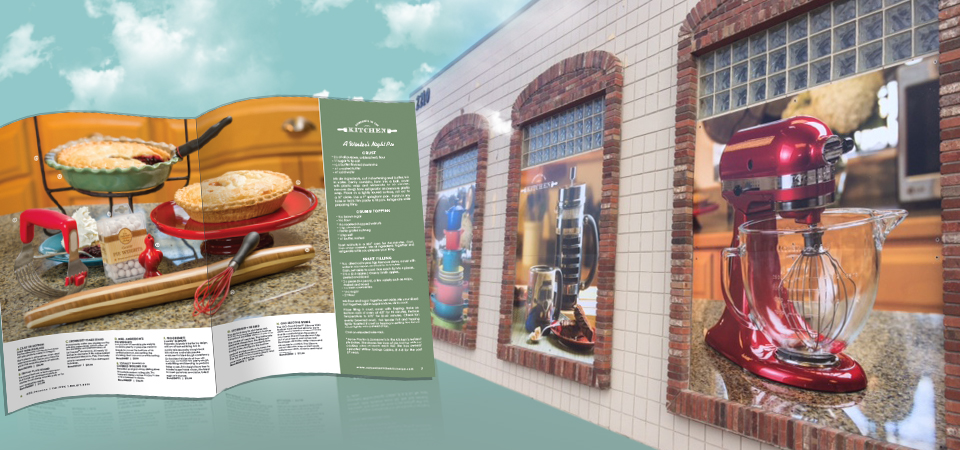 20 Page Full Color Magazine - 96x96 PVC Outdoor Panels