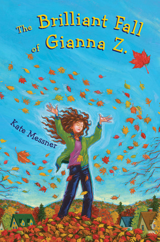 October 2015  - A copy of  The Brilliant Fall of Gianna Z.  plus a signed bookplate from Kate Messner, two special pencils & bookmarks + a Bonus Book!