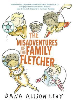 October 2015  - A copy of  The Misadventures of the Family Fletcher  plus a signed bookplate from Dana Alison Levy + a Bonus Book!