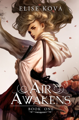 January 2016 -  A copy of  Air Awakens  plus a signed bookplate and themed bookmarks
