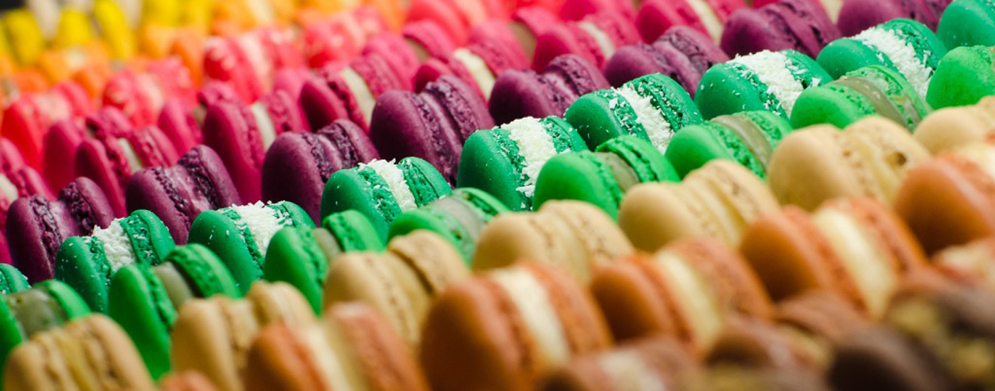 This list has nothing to do with macarons but it's pretty so shut up.