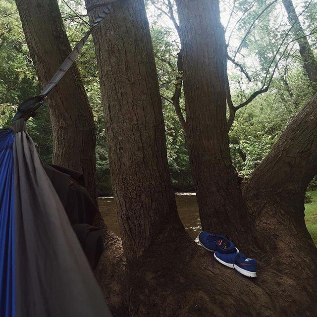 Hammock hangouts. #eno