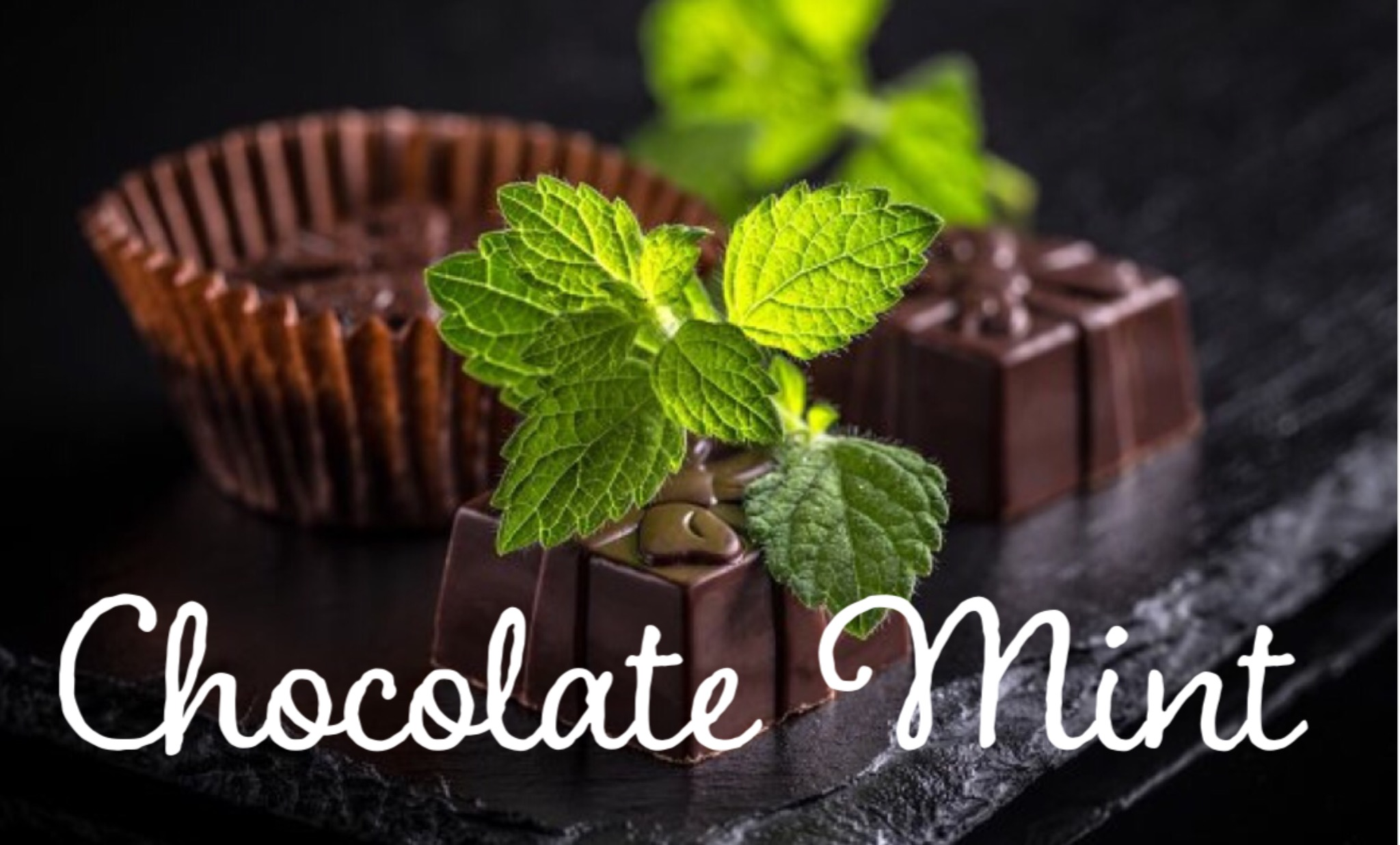 Sweet milk chocolate and refreshing peppermint.