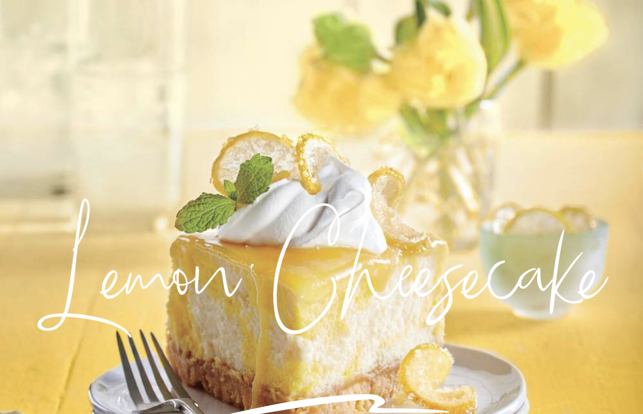 This decadent lemon dessert will surely make your mouth water!