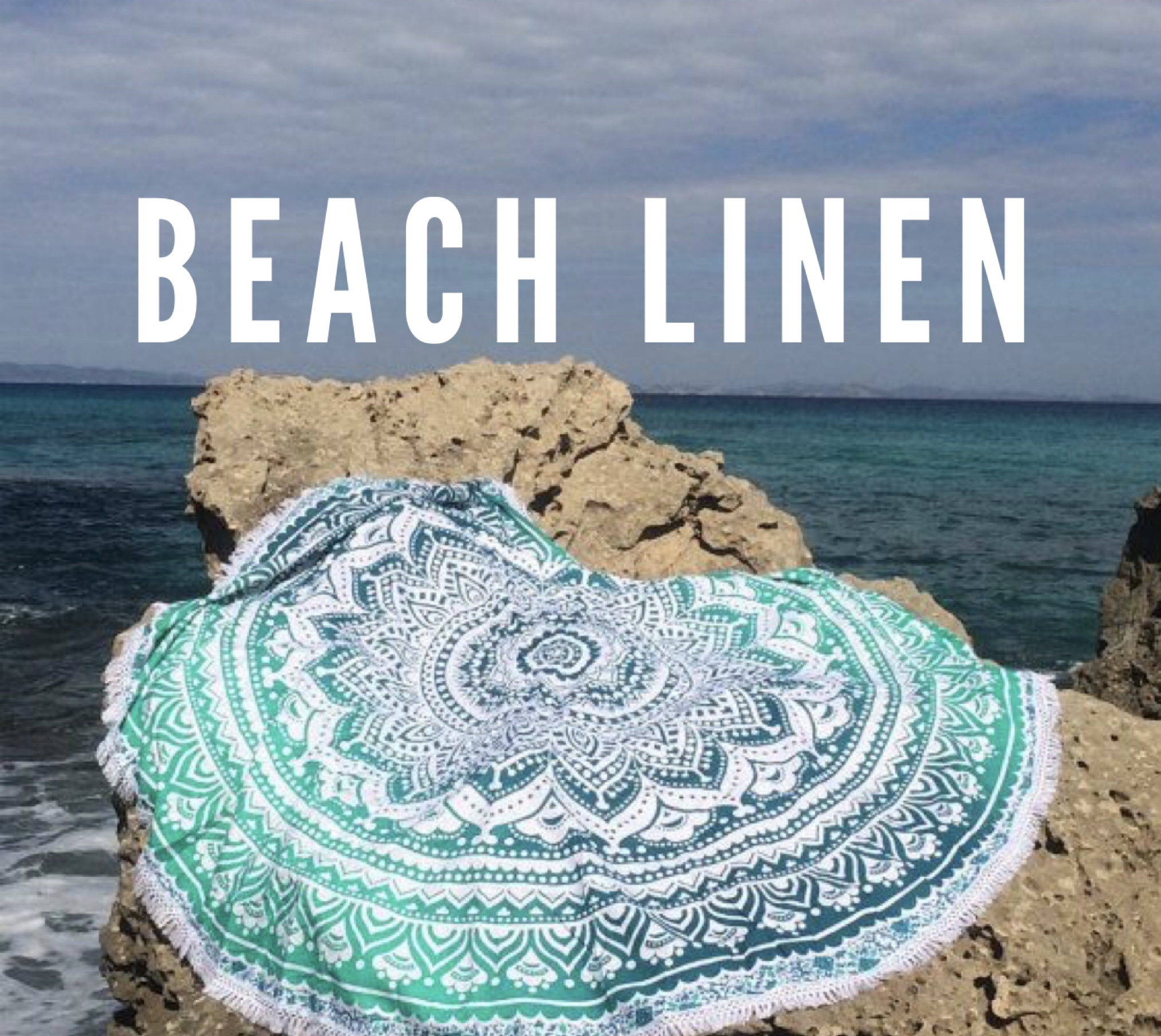 Airy coastal breeze blended with cozy clean cotton.