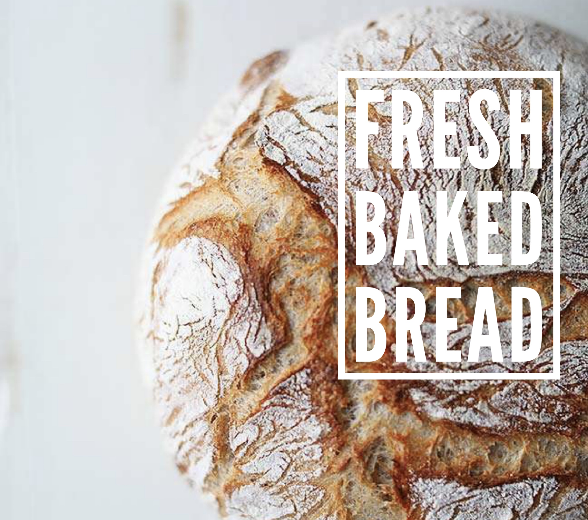 Warm and buttery homemade bread right from the oven!