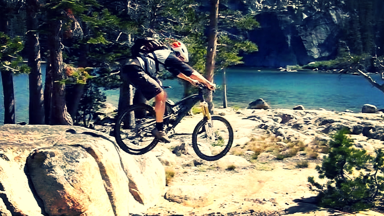 Hucking in Tahoe