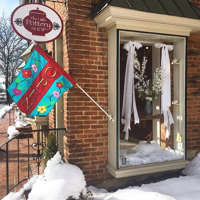Good morning Frederick! We are OPEN!! Like this post and mention it at the register for 15% off your total purchase, today only! #snowdaysale #getitdowntown #frederickmd