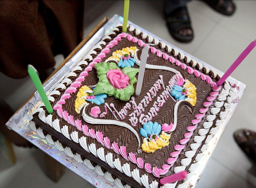 Suresh's 13th Birthday cake.