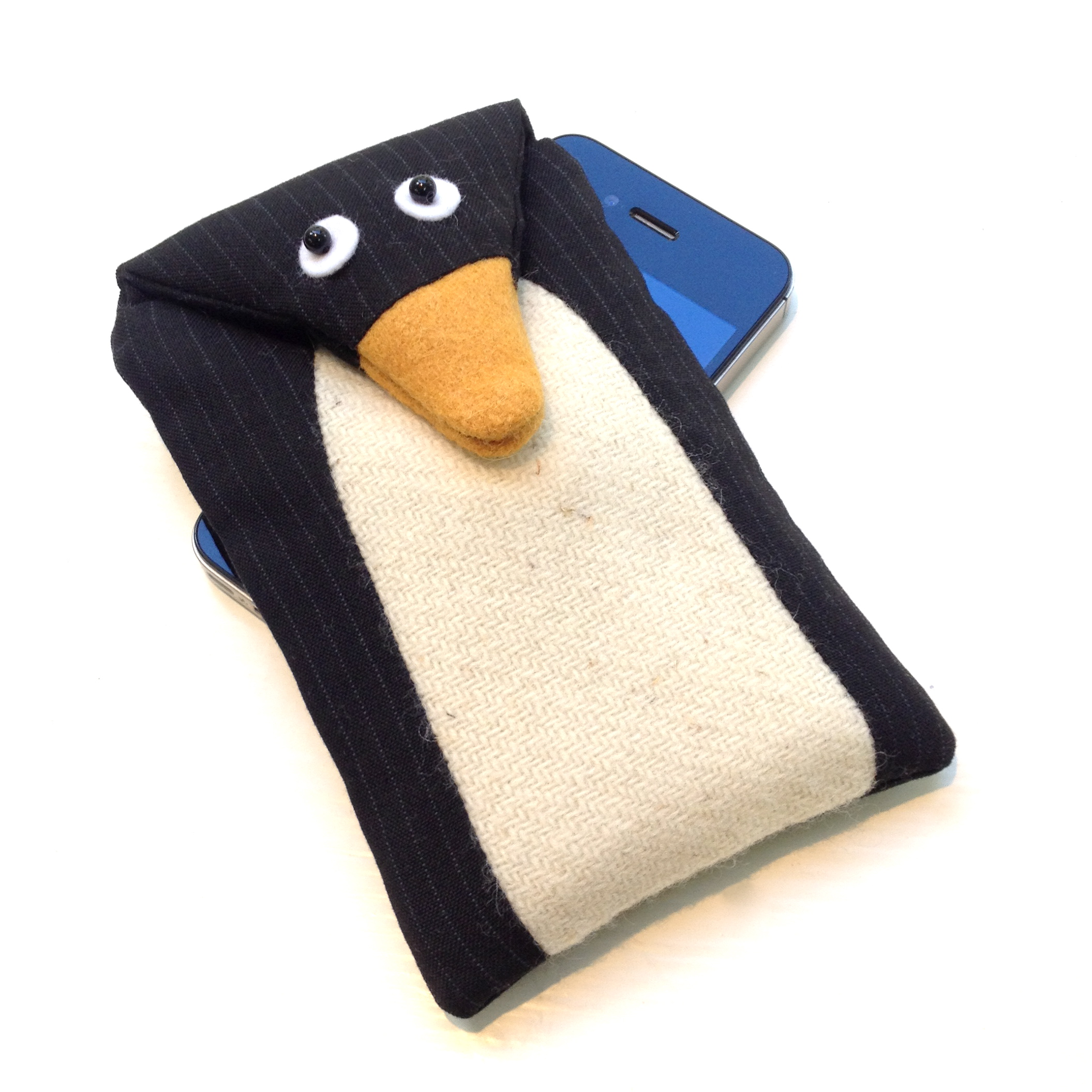 Pedro the penguin phone cover.