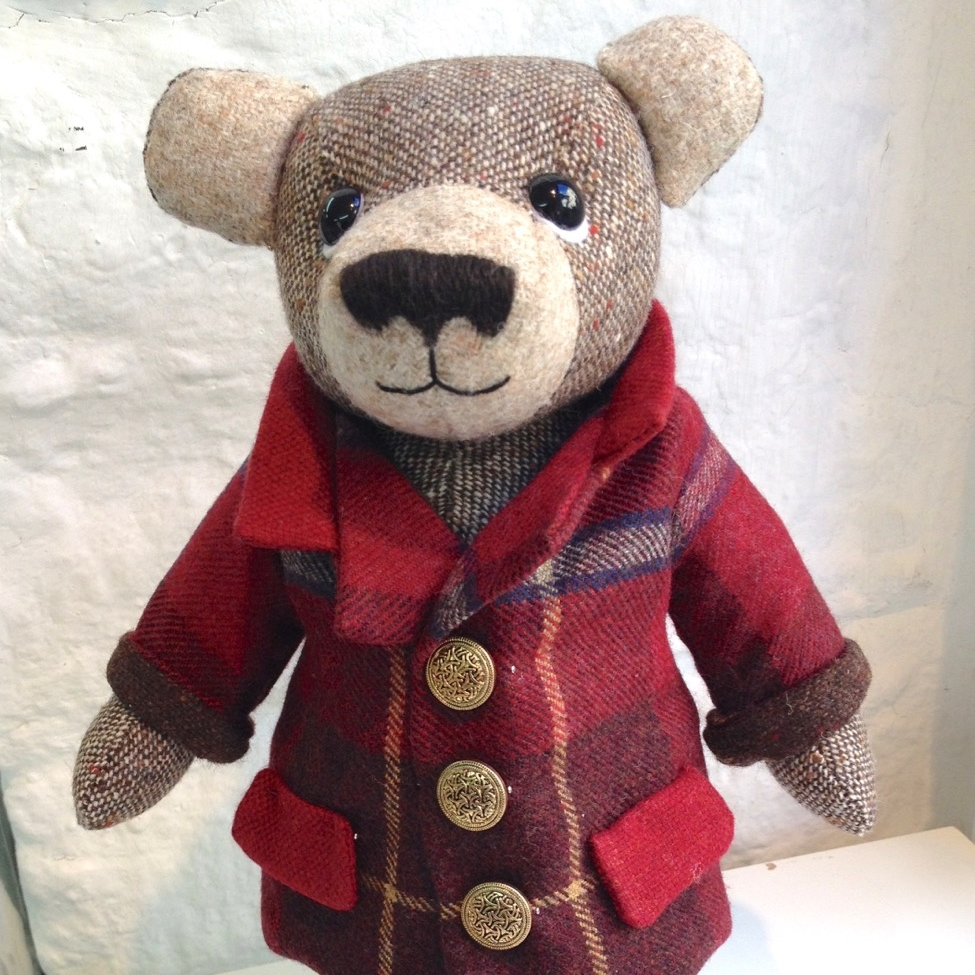 OOAK artist teddy bear.