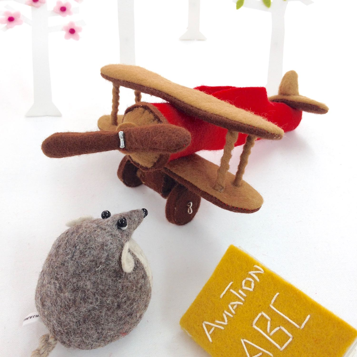 Bilberry Woods storybook character Henry the Harvest Mouse by Laura Mirjami | Mirjami Design