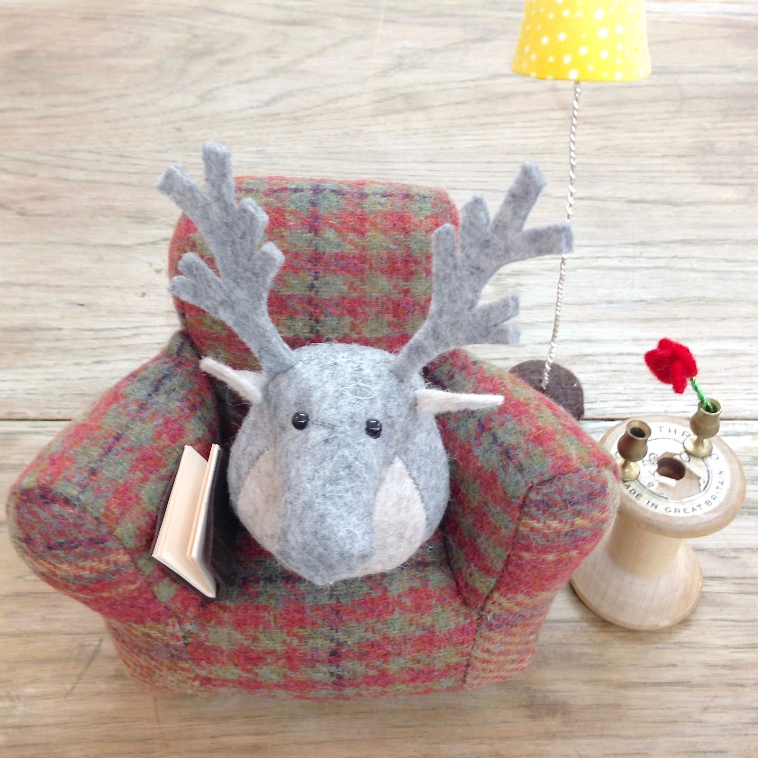 Rupert the Reindeer by Laura Mirjami | Mirjami Design