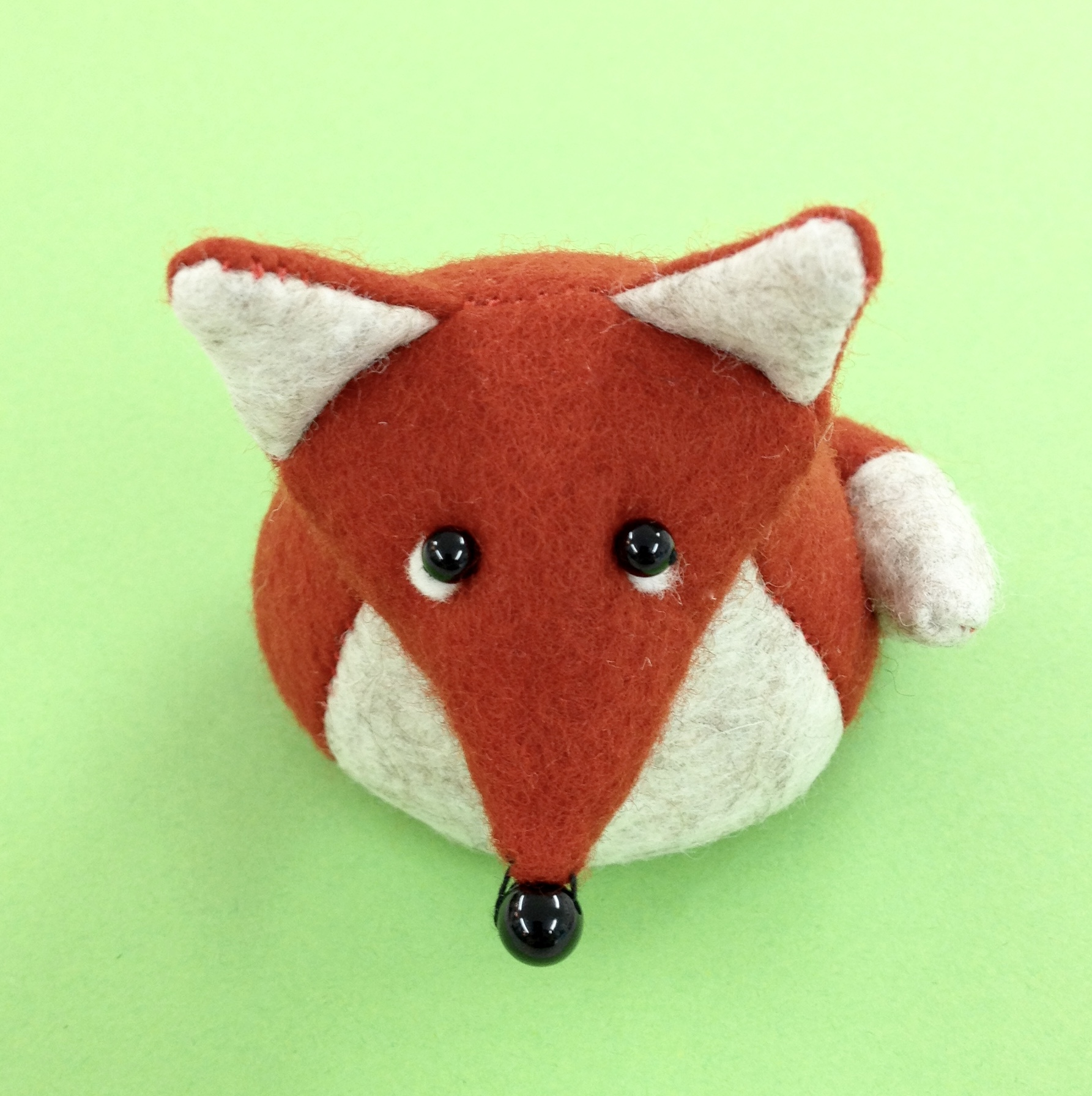 Bilberry Woods character Findlay the Fox by Laura Mirjami | Mirjami Design