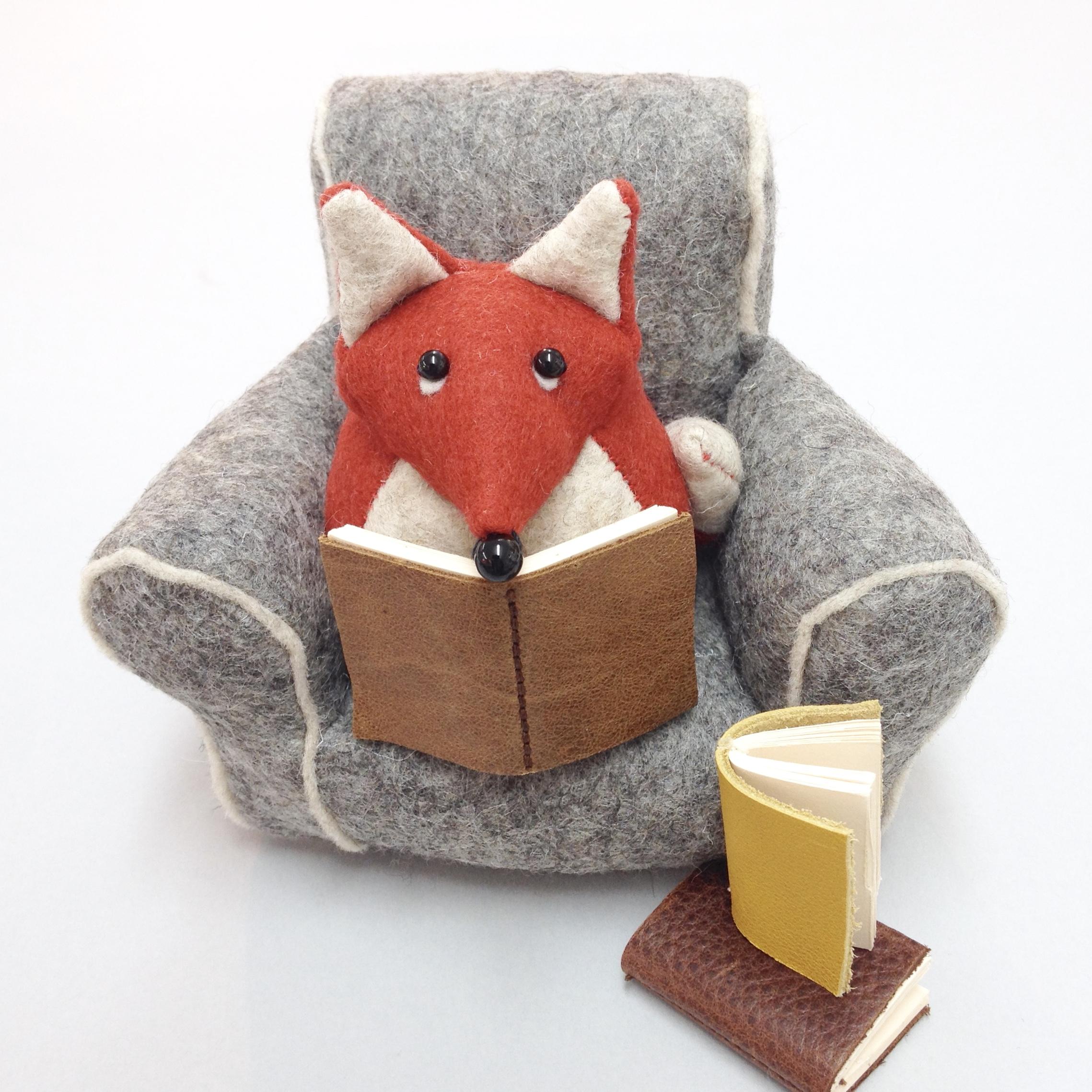 Bilberry Woods characters handmade by artist Laura Mirjami