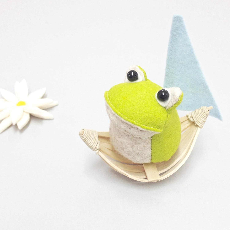 Croaker The Frog by Laura Mirjami Bilberry Woods