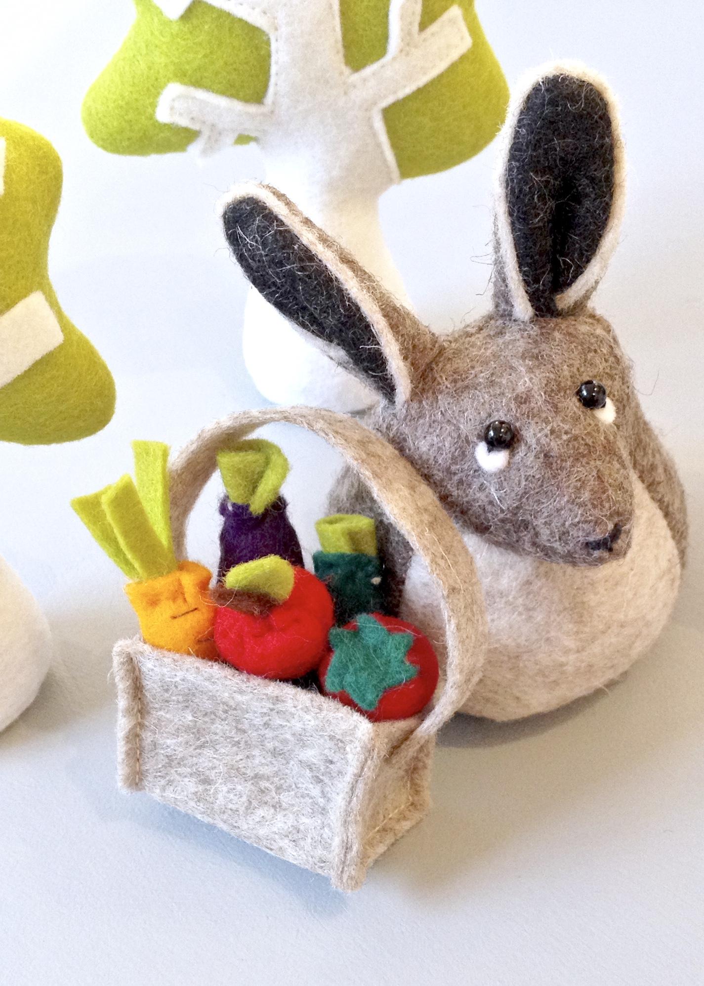 Bilberry Woods Character Henrietta The Hare by Laura Mirjami