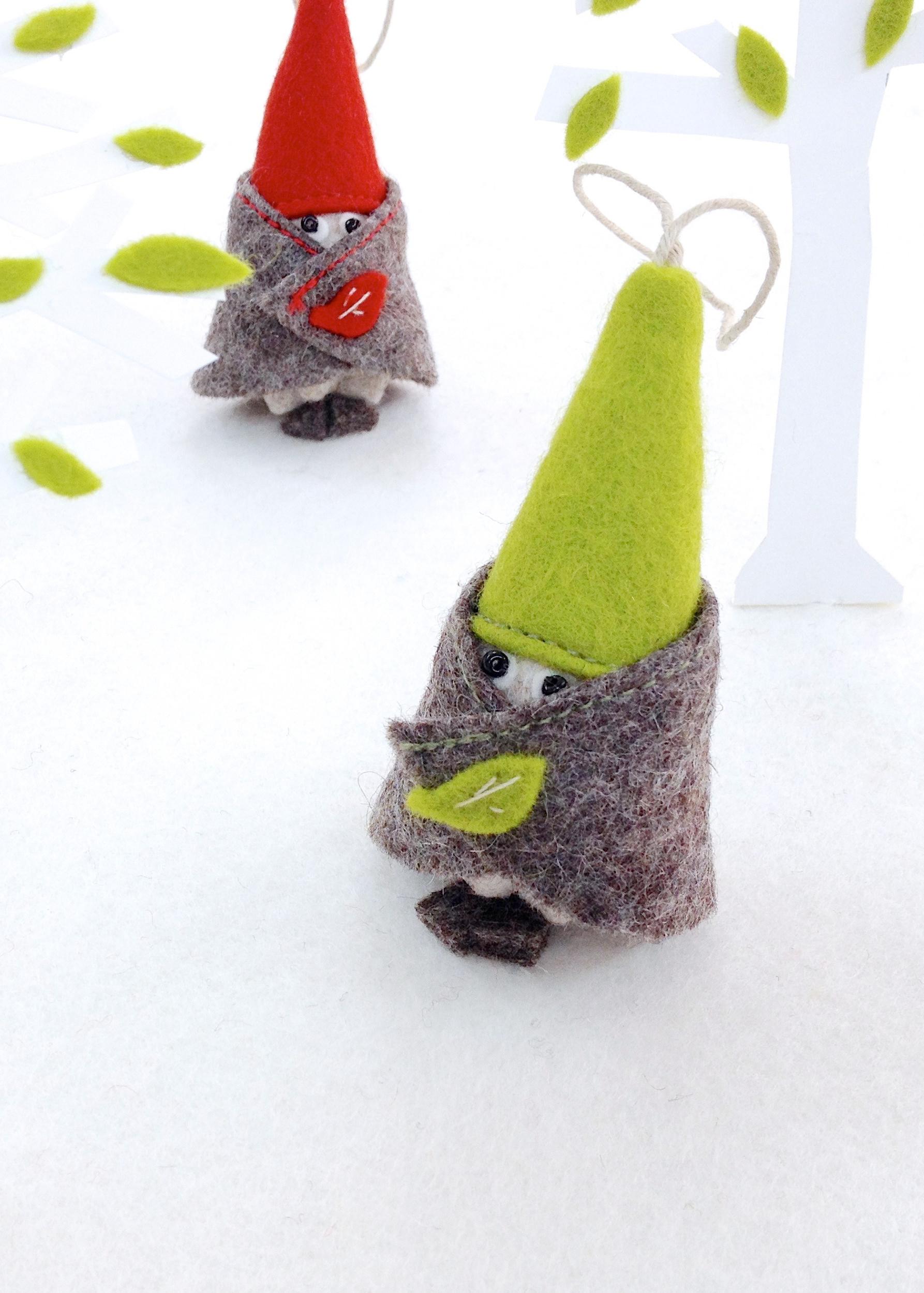 Bilberry Woods Character 'Tonttu' - Dwarf by Laura Mirjami
