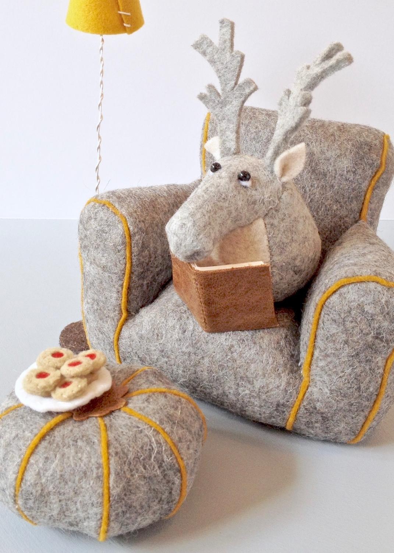 Bilberry Woods Character Rupert The Reindeer