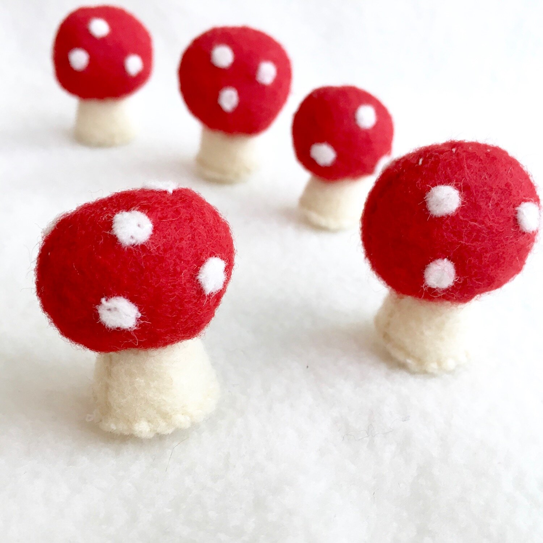 DIY Miniature Toadstool Mushroom Photo Tutorial