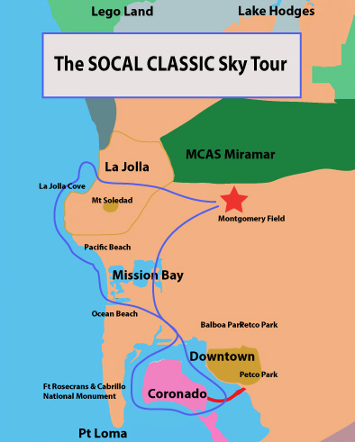 The Most Popular Tour - The SOCAL CLASSIC Sky Tour