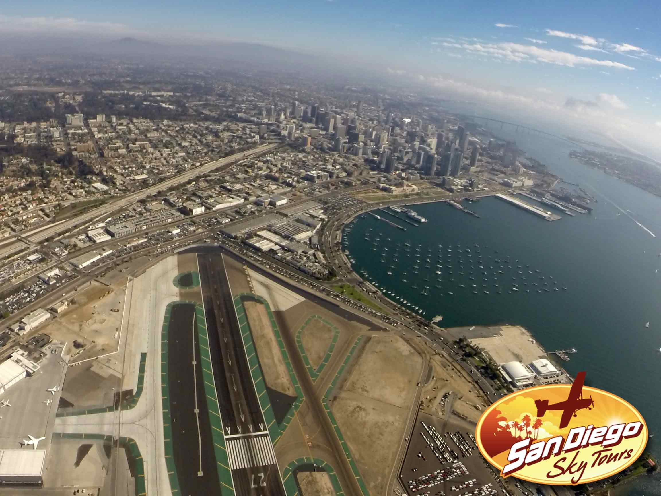 Lindbergh Field, Downtown, Maritime Museum. All the best San Diego Tourist spots!