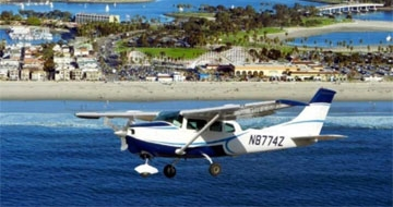 San Diego Biplane Tour Sightseeing