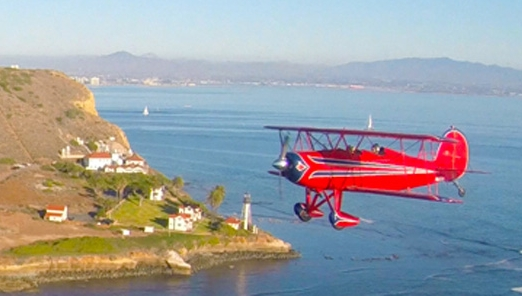 A   Single Person Biplane Ride   over all the fun parts of San Diego and the shoreline. Spoil yourself or another person with this exquisite open cockpit biplane aerial tour OR choose the   Formation Biplane Tour   for one of those 'once in a lifetime' experiences. We do not have a two passenger biplane, call us to explain.