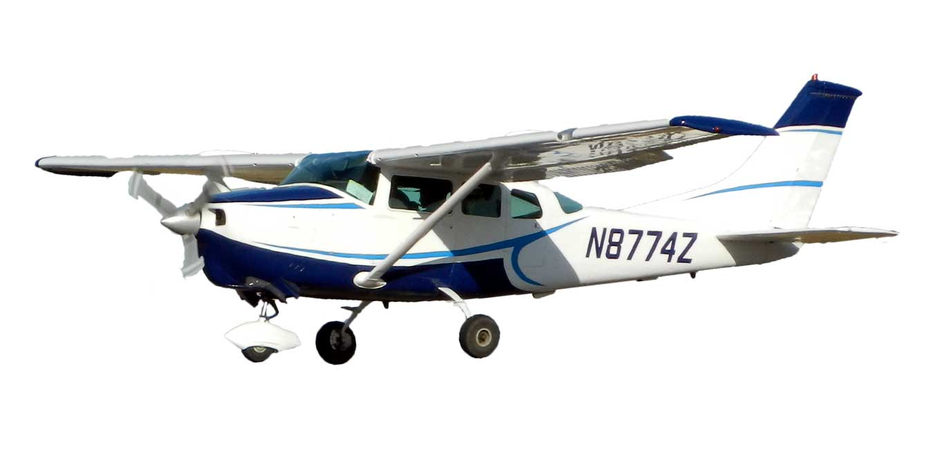 5 Passenger Tour Aircraft, comfortable and each seat has a window view!