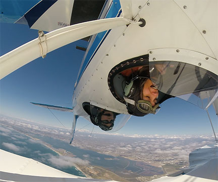 Each of our biplane rides consist of aerobatics and a comprehensive aerial tour.