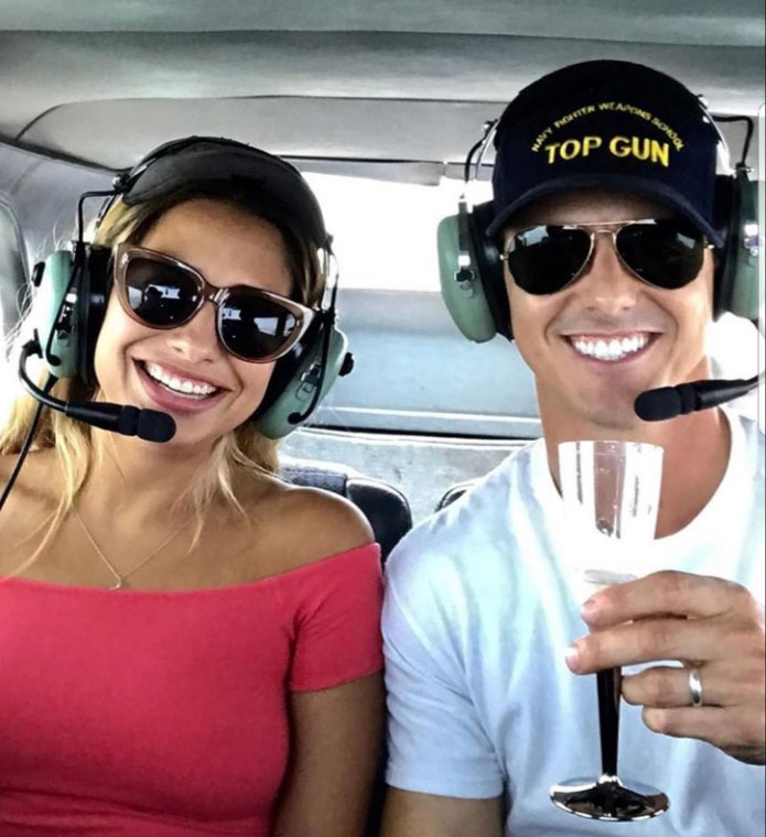 Maverick enjoys the best airplane rides with San Diego Sky Tours. He suggests to only fly with the best pilots!