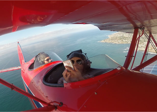 This biplane ride is one of the top things to do in San Diego.