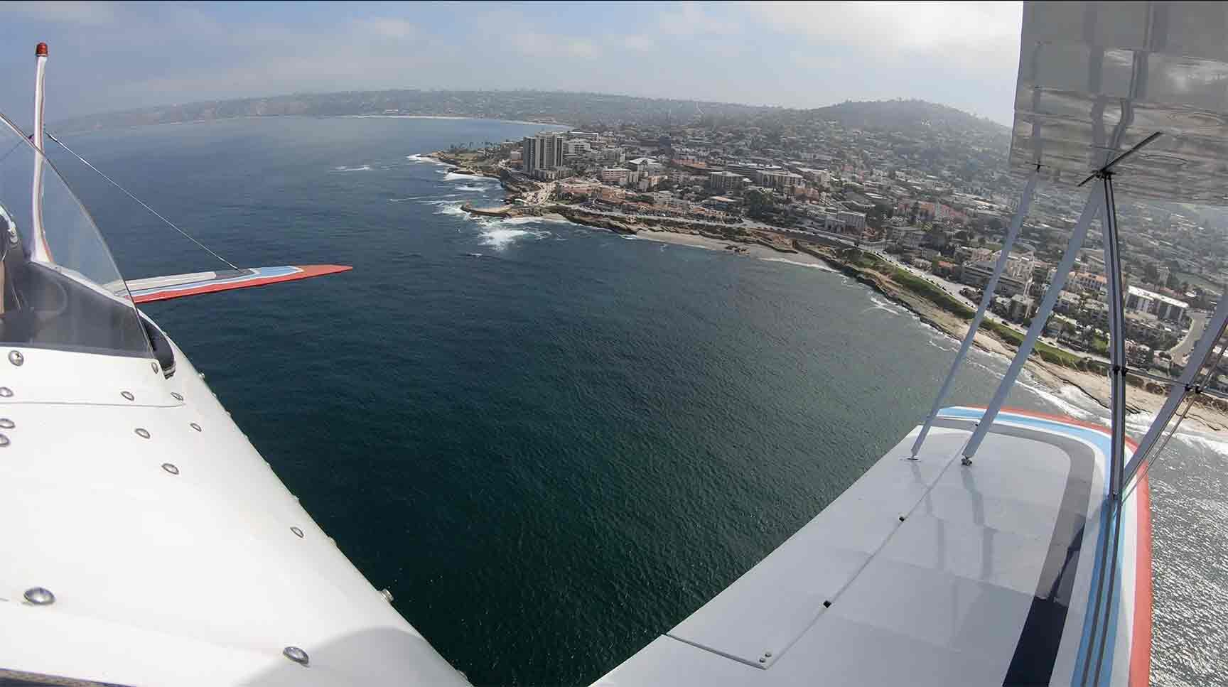 Just a snippet of the amazing views you will experience with this aircraft!