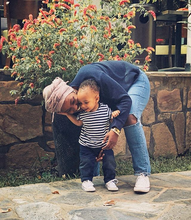 When your mama keeps snatching all your edges with her crazy plans. I was telling him about how amazing it's going to be when we finally visit Cuba. Mama + Papa are working hard baby boy. . . .