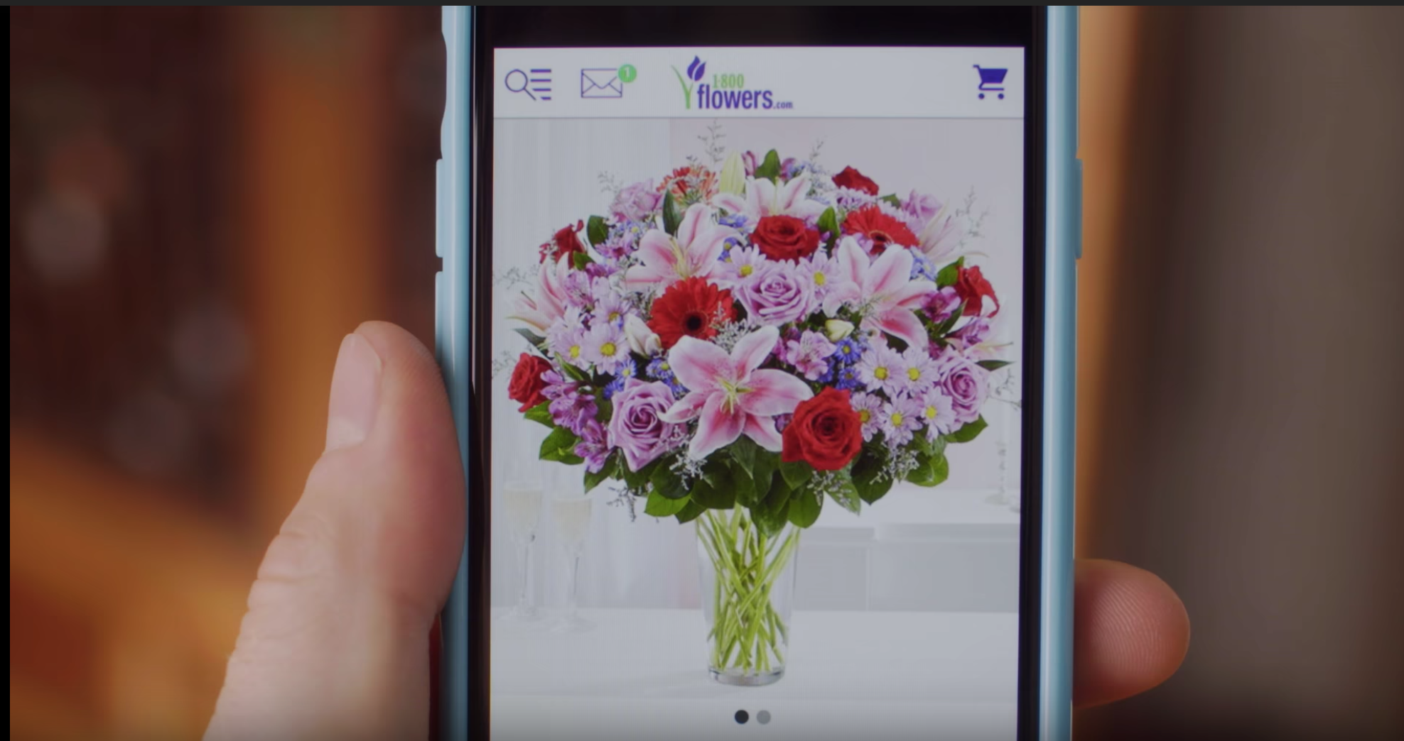 """1-800-FLOWERS - """"FROM WEBSITE TO IN SIGHT""""COMMERCIAL2018"""