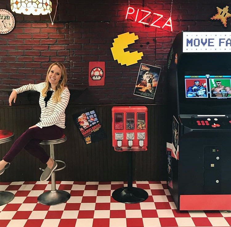 PIZZA PARLOR - INSTALLATIONFACEBOOK HQ LOS ANGELESPHOTO COURTESY OF @SHANNON