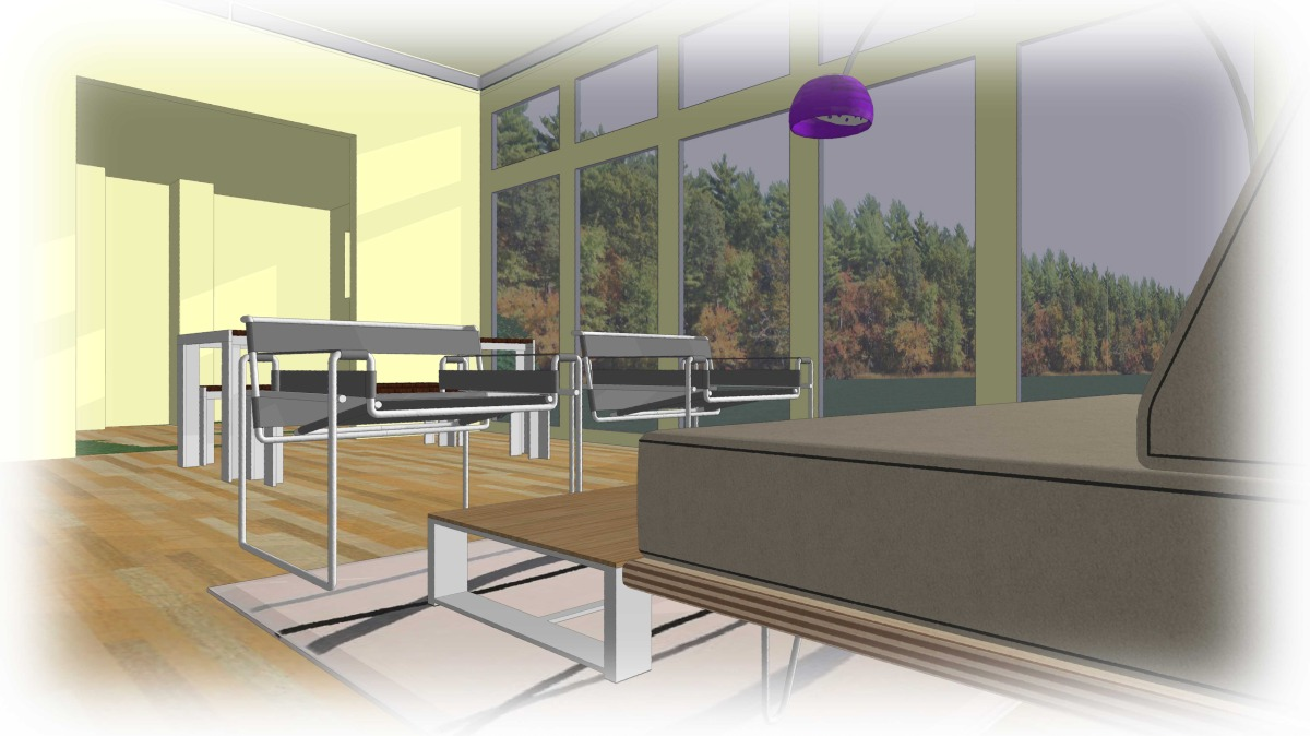 Trillium Architects 3 bar modern modular Interior plans