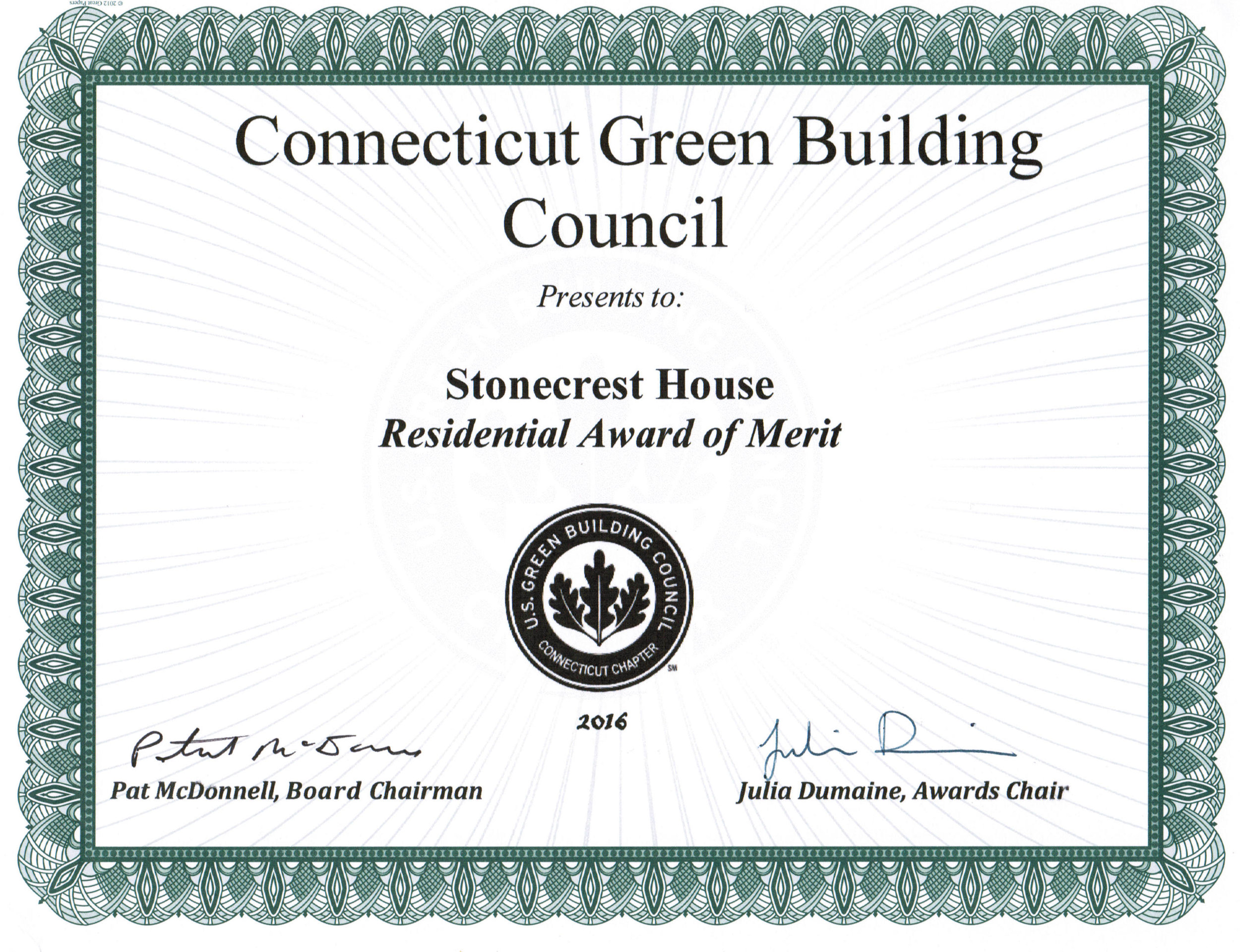 CTGBC 2016 Award of Merit - Stonecrest.jpg