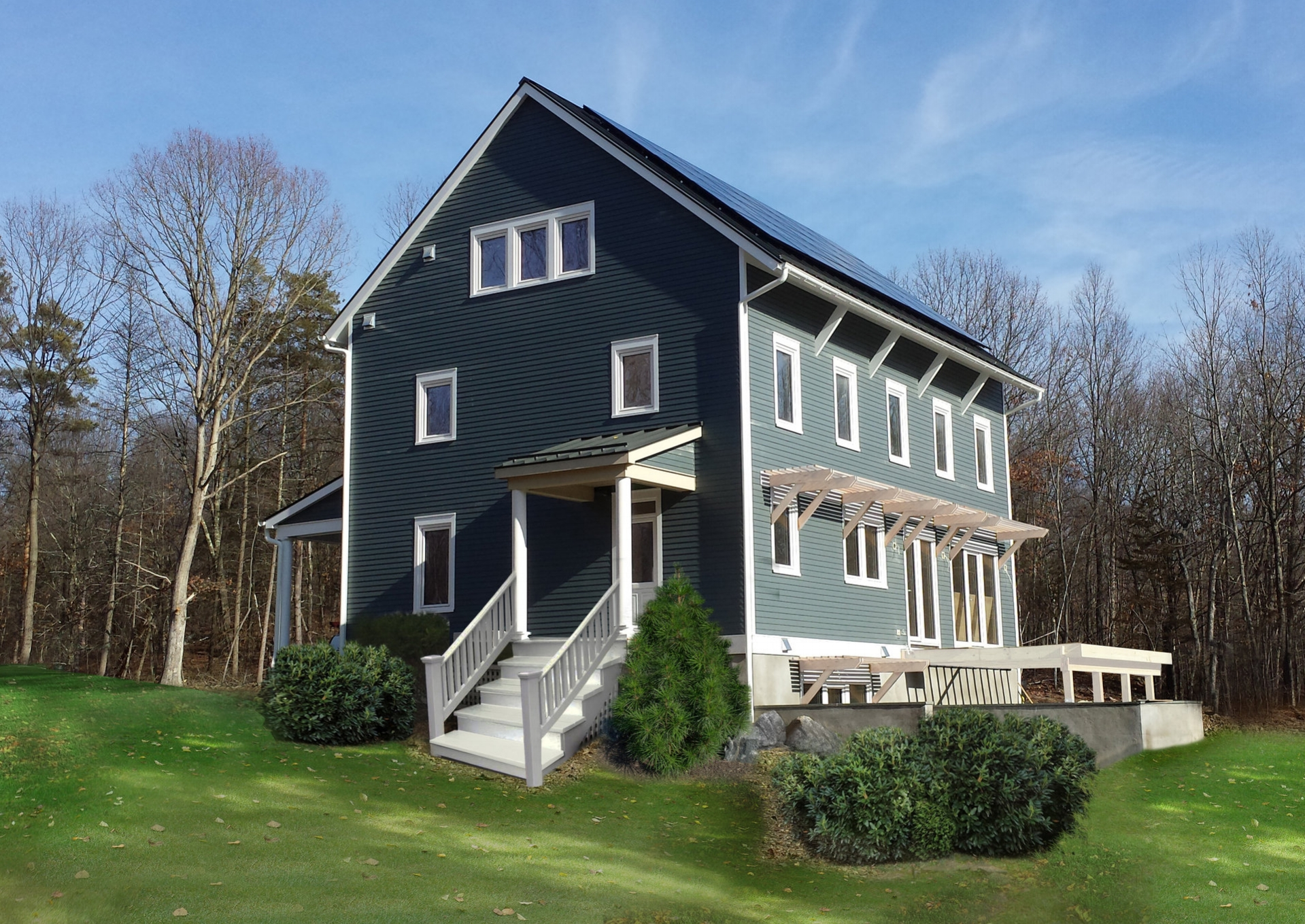 Trillium Architects Passive House in Hudson County, NY