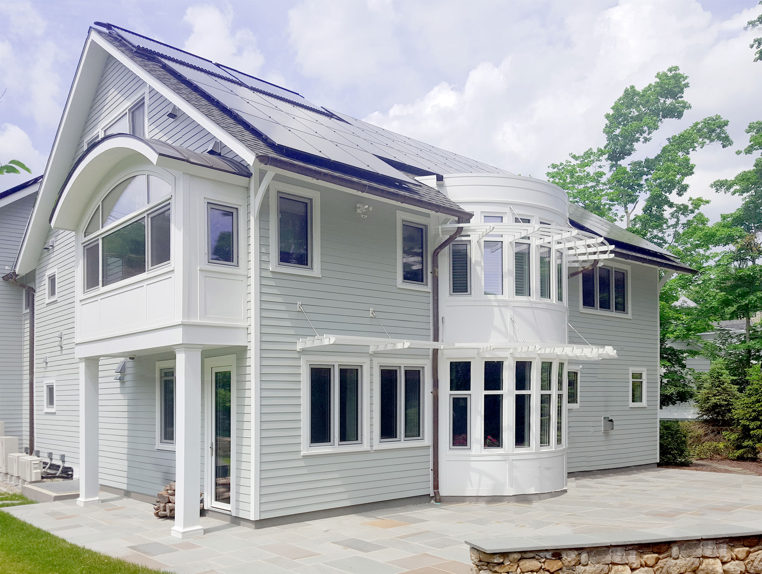 See more photos of this zero-energy home in New Canaan, CT