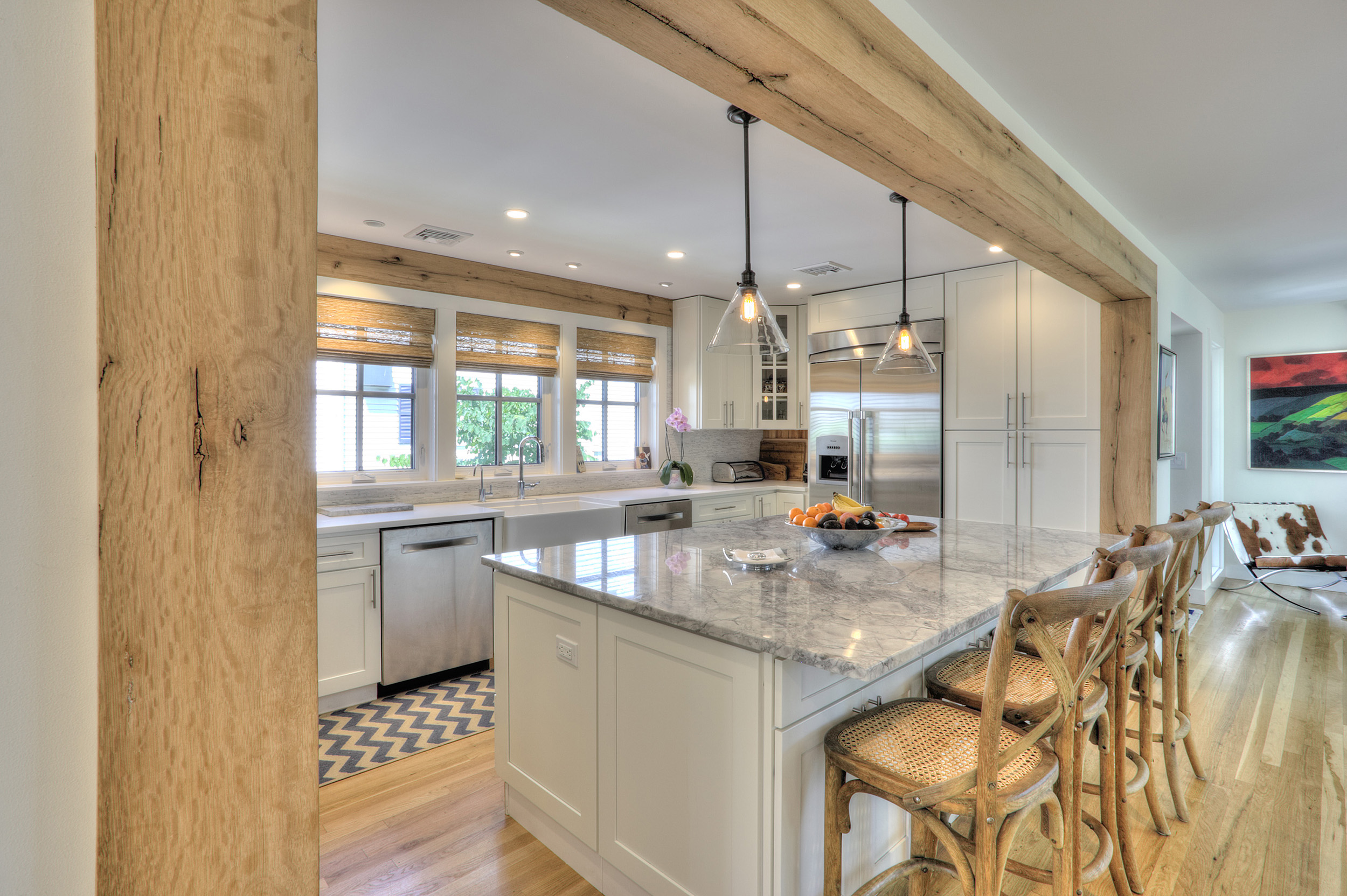 …we really like the house and are extremely pleased with the work that you & the Trillium Team did on it. There are so many decisions that you coached us on and for which we are pleased with the results.