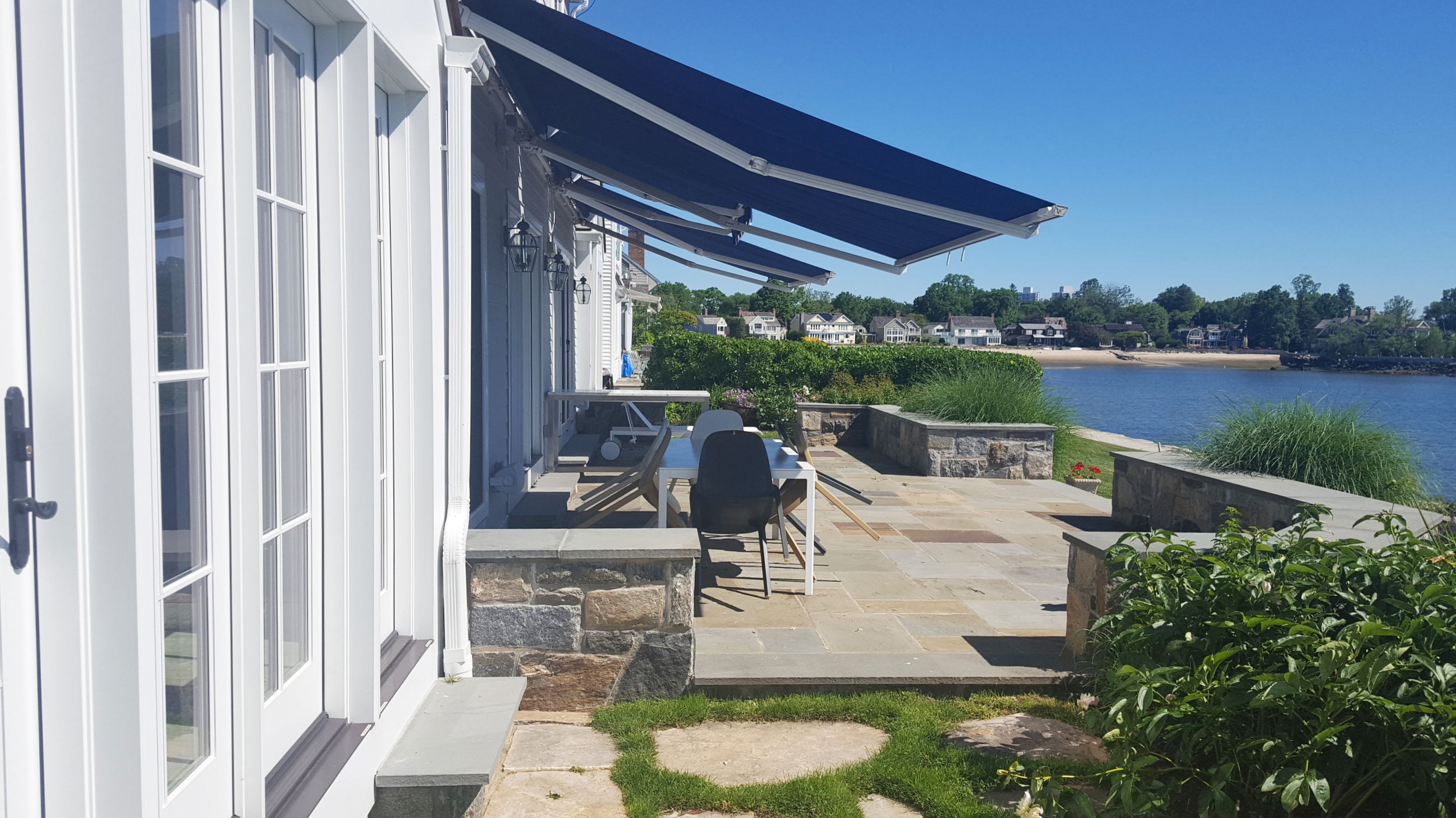 """""""...We have a 'phase two' coming up, and instead of dreading it I look forward to the project because I get to keep working with Elizabeth and her Trillium team...""""  -Stamford, Organic Waterfront Renovation"""