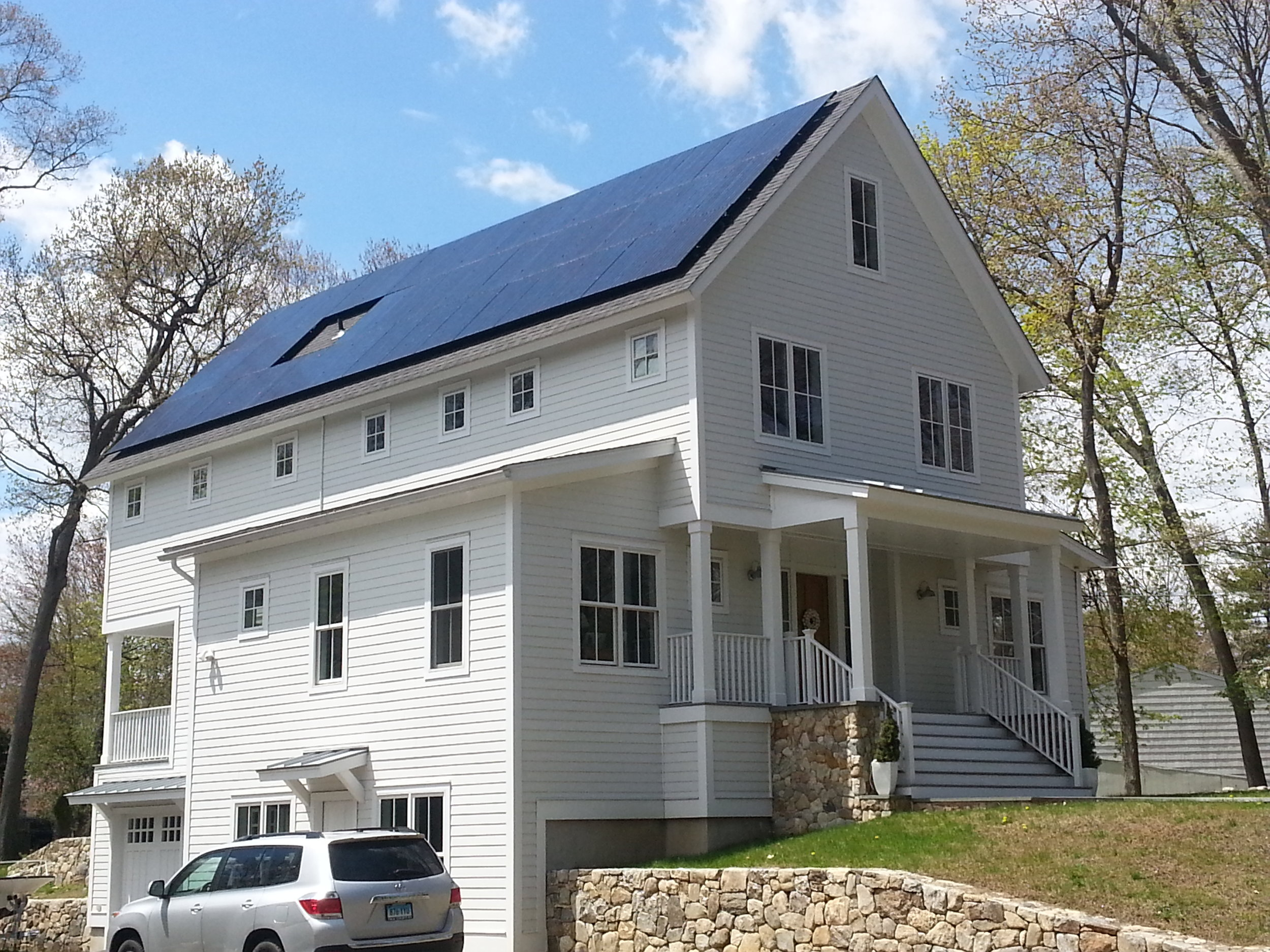 Learn more about this Near Net Zero Energy Farmhouse in Westport, CT