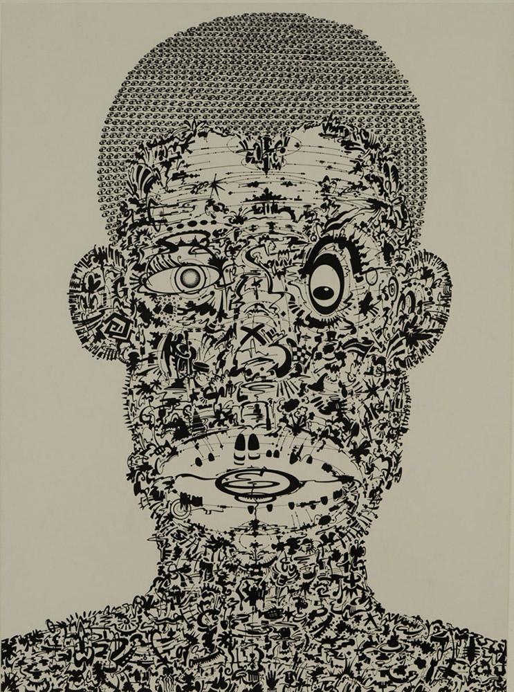 Portrait of Bert Williams  - 2010