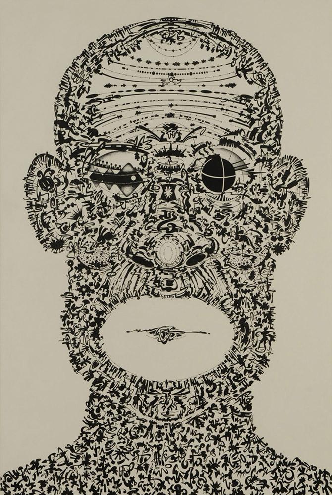 Portrait of Billy Kersands  - 2010
