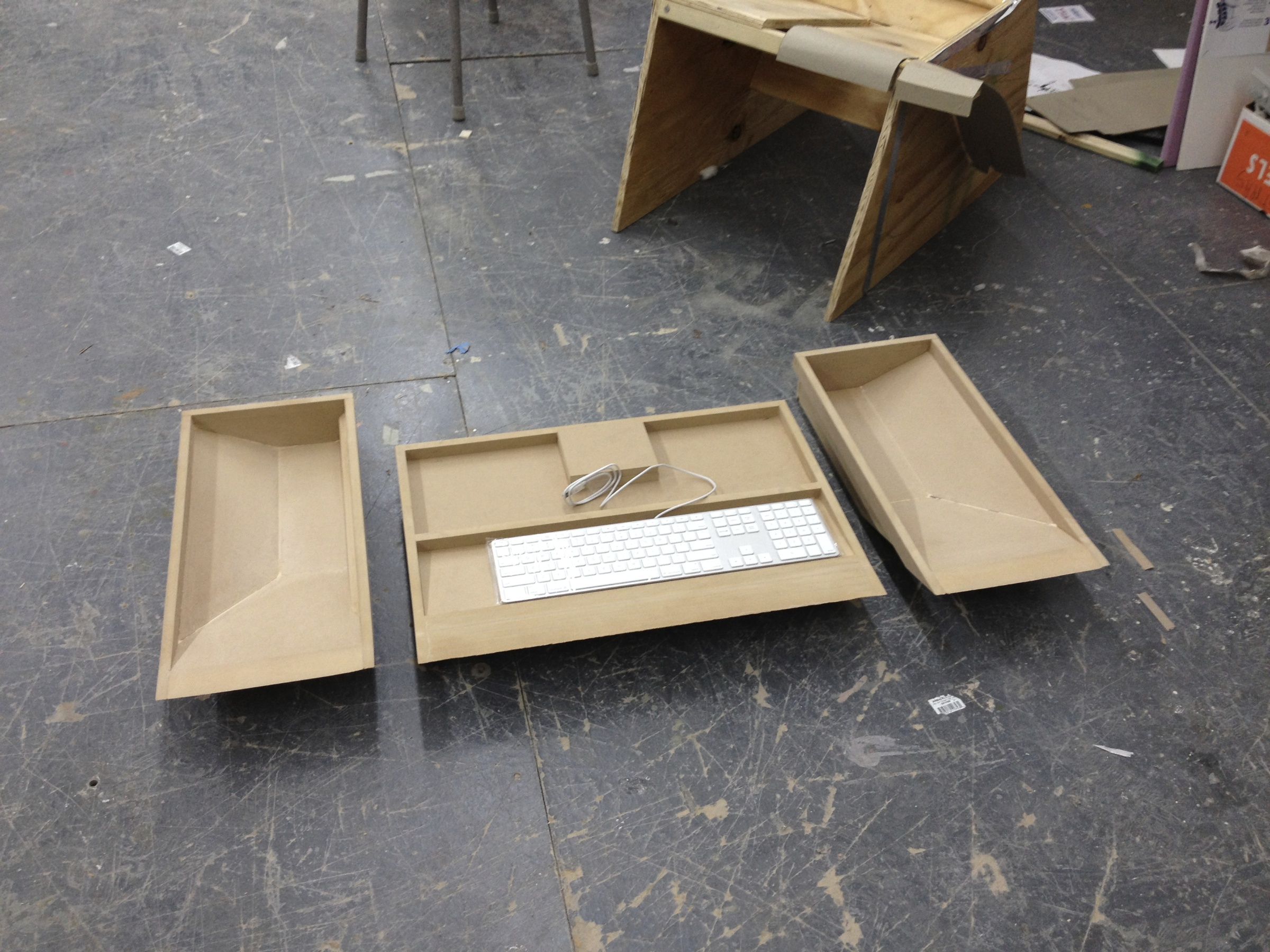 Drawers constructed with MDF