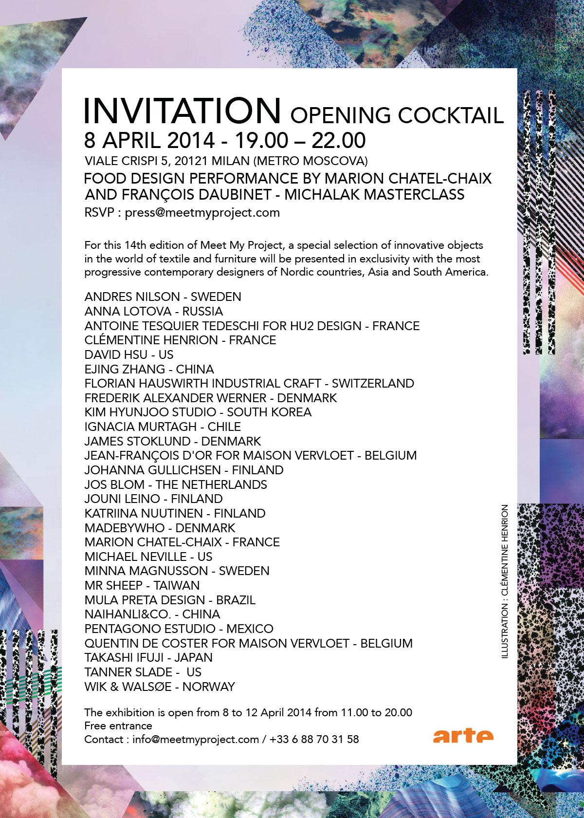 Meet My Project 2014 Milan Exhibitors