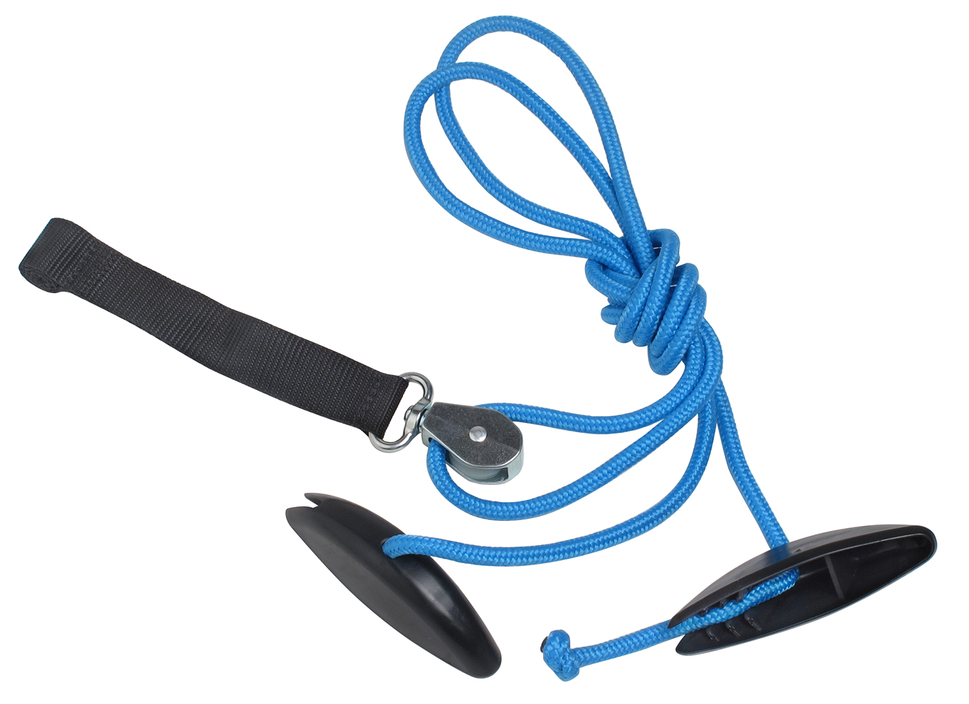 BlueRanger Shoulder Pulley with Webbing Door Strap