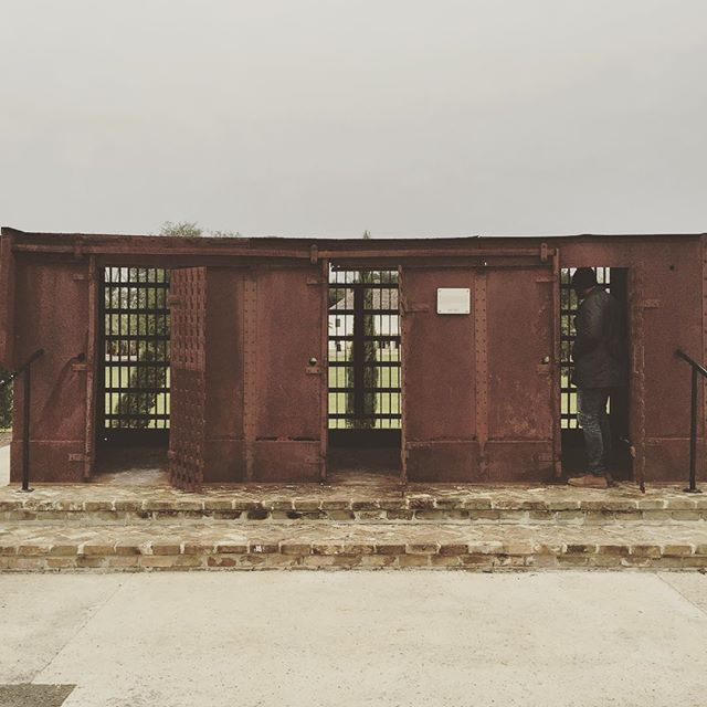 Slave punishment chambers at the Whitney Plantation in Wallace, LA. The only slavery museum in America.